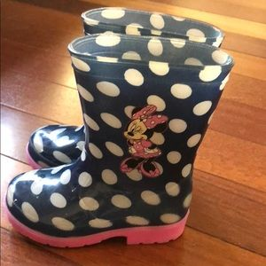 Other - Minnie Mouse rain boots for toddler